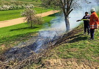 Flächenbrand in Kippenheim