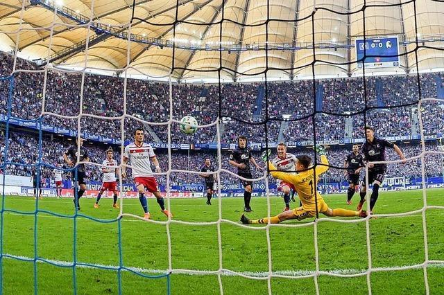 SC-Spieler demolieren Kabinentür im Hamburger Volksparkstadion
