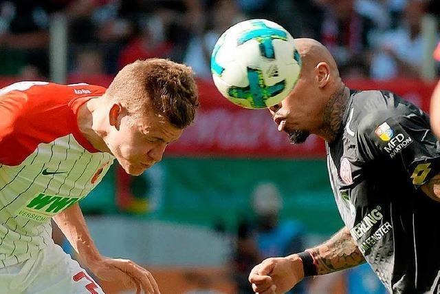 Niederlage in Augsburg: Mainz bleibt im Abstiegsstrudel