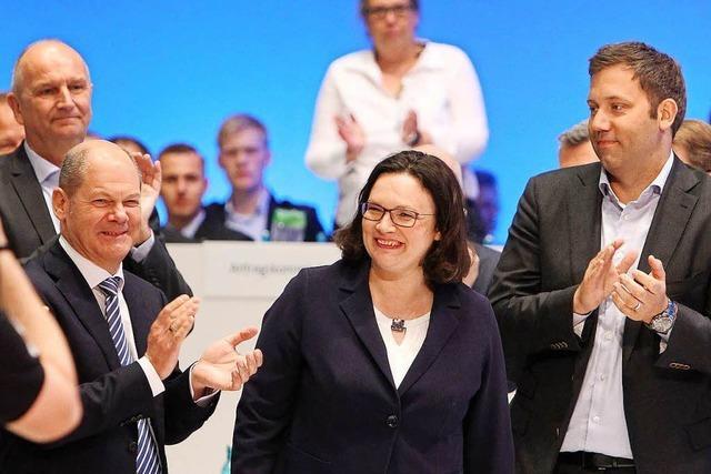 Viele in der SPD werfen der Ex-Juso-Chefin Nahles Verrat vor