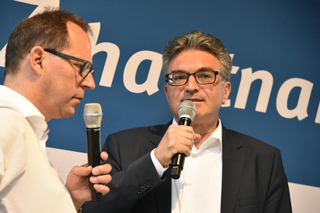 Horn liegt vorn - Denkzettel für Amtsinhaber Salomon im ersten Wahlgang