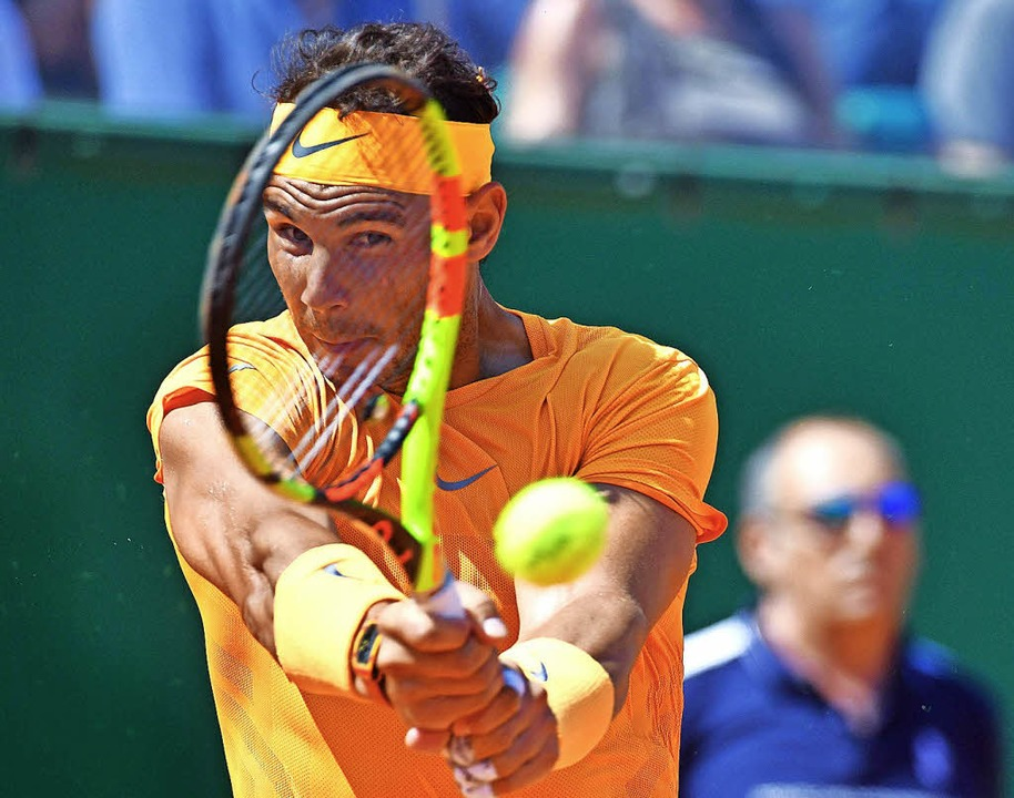 Ein echter Haudrauf: Rafael Nadal   | Foto: AFP