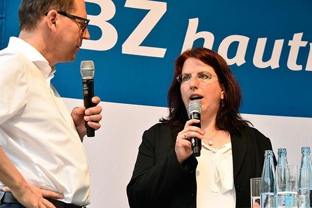 Livestream: BZ-Talk auf dem Rathausplatz