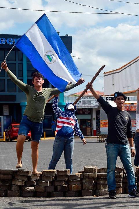 Die Proteste in Nicaragua haben mindestens 26 Menschen ihr Leben gekostet.  | Foto: AFP