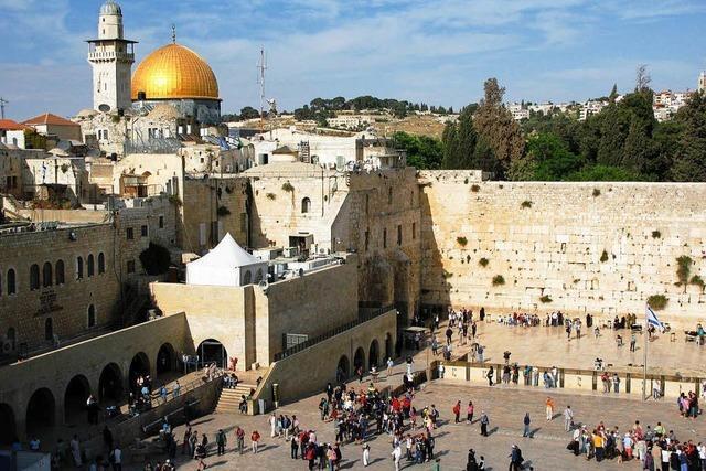 Mix der Kulturen im heiligen Land