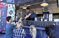 Barstreet-Festivals mit 30 Food-Trucks auf dem Rathausplatz in Lahr