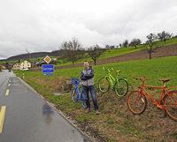 Ein ganzes Dorf im Radsportfieber