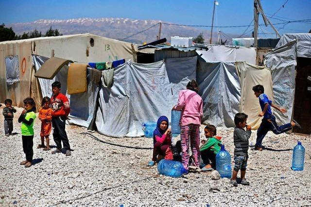 Deutschland gibt eine Milliarde Euro zusätzlich für Syrien