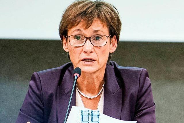 Sabine Kurtz - Landtagsvizepräsidentin mit holprigem Start