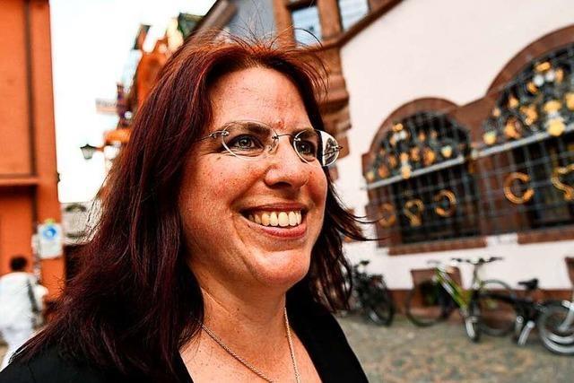 Monika Stein tritt zum zweiten Wahlgang an
