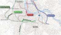 Idee einer Westtangente entzweit Basel