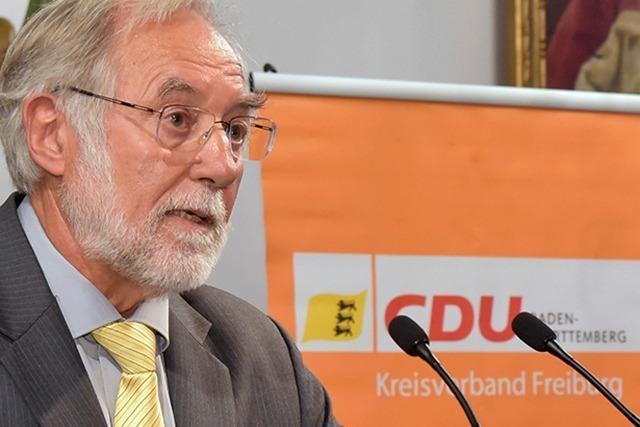 Freiburger CDU ruft zur Wahl von Amtsinhaber Salomon auf