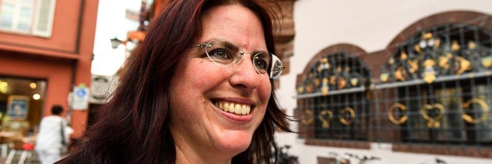 Rennen ums Rathaus: Monika Stein tritt zum zweiten Wahlgang an