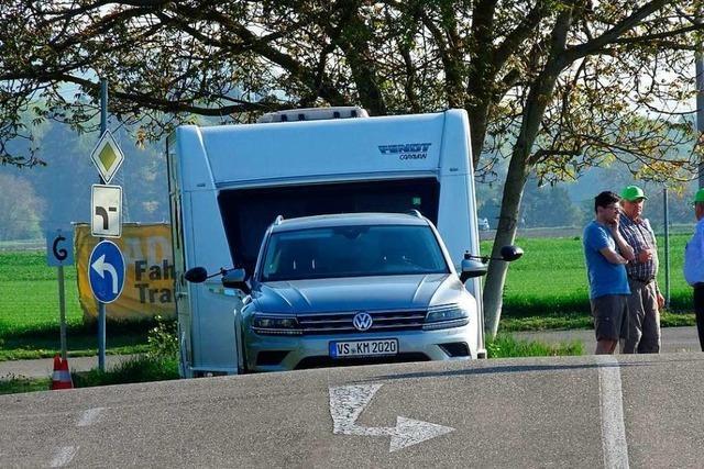 In Breisach gibt es Caravan-Fahrkurse