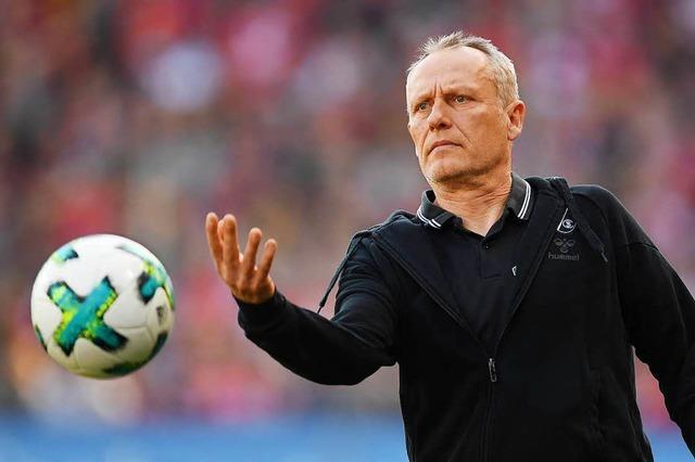 Christian Streich sucht nach personellen Alternativen für das Spiel gegen Köln