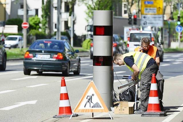 Zwei neue Blitzer überwachen den Freiburger Straßenverkehr