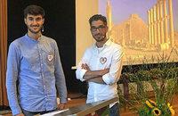 Louay Hindi und Khaled Alsaleh berichten über Syrien in Waldkirch