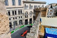 Der enge Formel-1-Kurs von Baku fordert die Piloten heraus