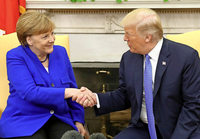 Trump fordert von Merkel mehr Geld für Rüstung