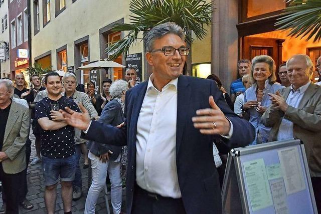 Dieter Salomons Team macht sich Mut