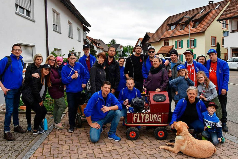 Die Flyburg-Hexen waren on Tour (Foto: Heinz u. Monika Vollmar)
