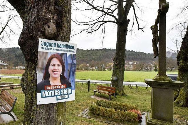 Tod von Monika Steins Mutter überschattet den OB-Wahlkampf