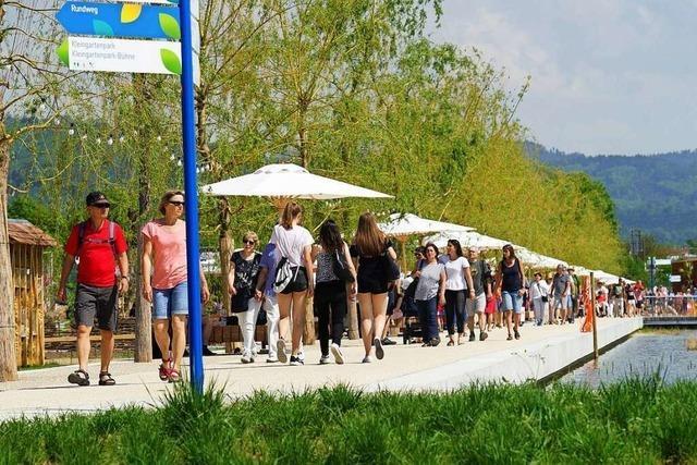 Landesgartenschau: 25.000 Tageskarten in drei Wochen verkauft