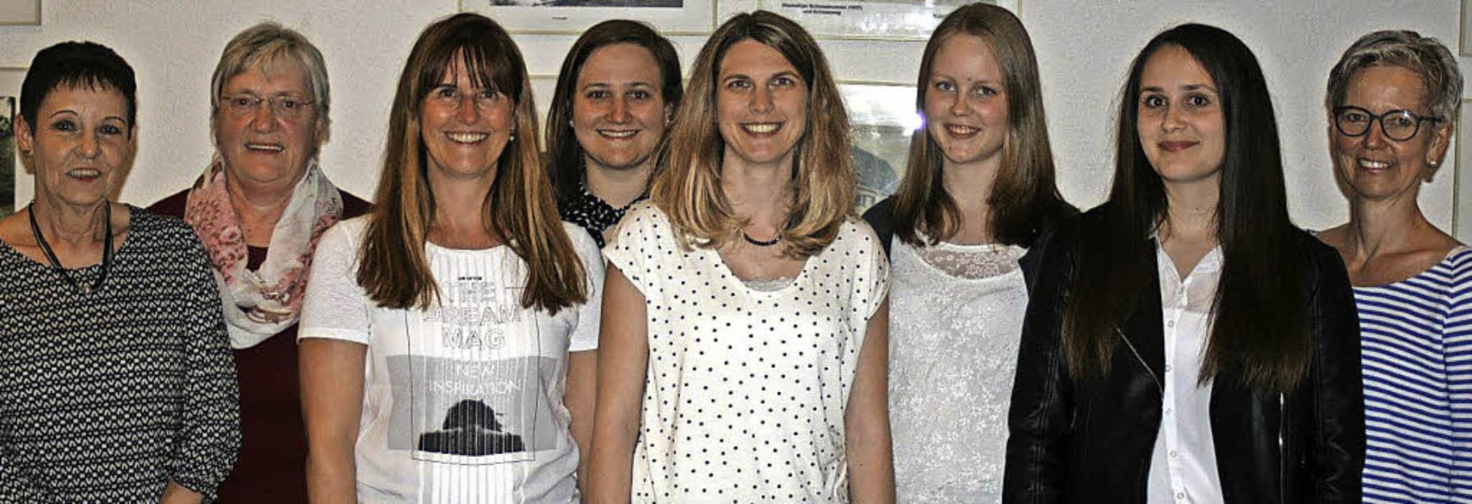 Geehrte und Gewählte (v.li.): Edith Ha...hmidt und Nicole Wyss. Foto: Ines Bode  | Foto: Ines Bode