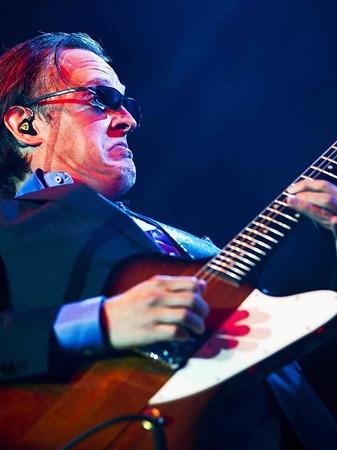 Bluesrocker und Gitarrensammler mit einer Vorliebe für Gibson: Joe Bonamassa