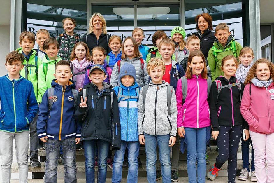 Klasse 4 der Maria Sibylla Merian Grundschule aus Endingen (Foto: Vanessa Strümpel)