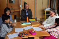 Sonnenbergschule setzt auf die Erfahrung von Senioren