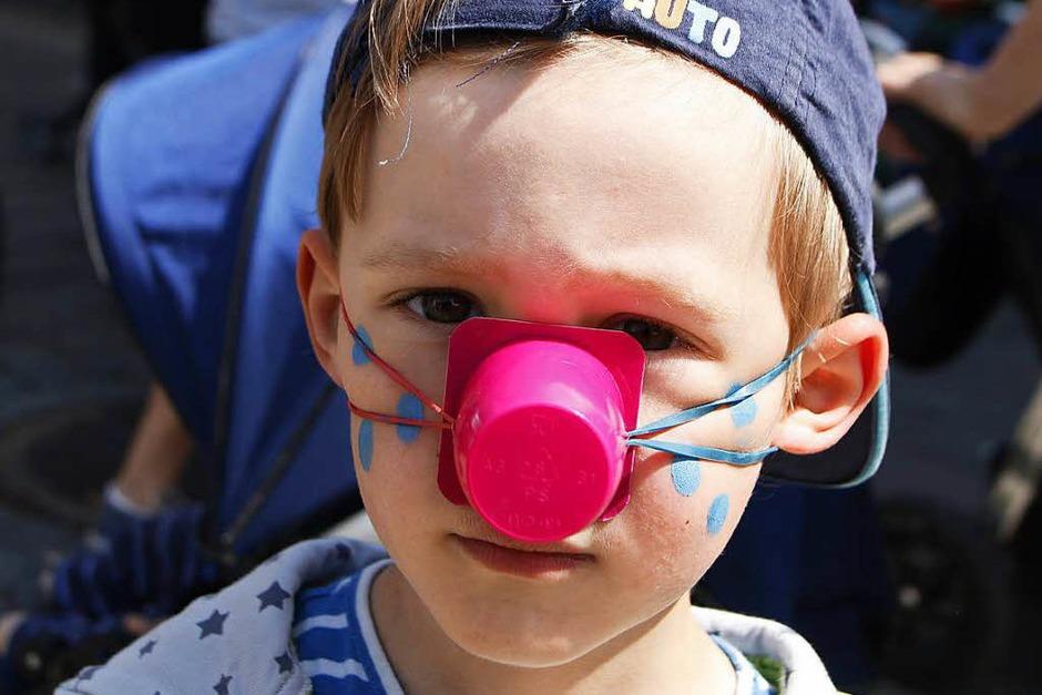 Angebote zum Zugucken und Mitmachern beim Kinderfest (Foto: Heidi Foessel)