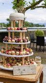 Herzen, Mandeln, Mini-Kuchen