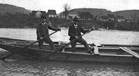 Der Rhein bei Wyhlen und Grenzach vor 100 Jahren