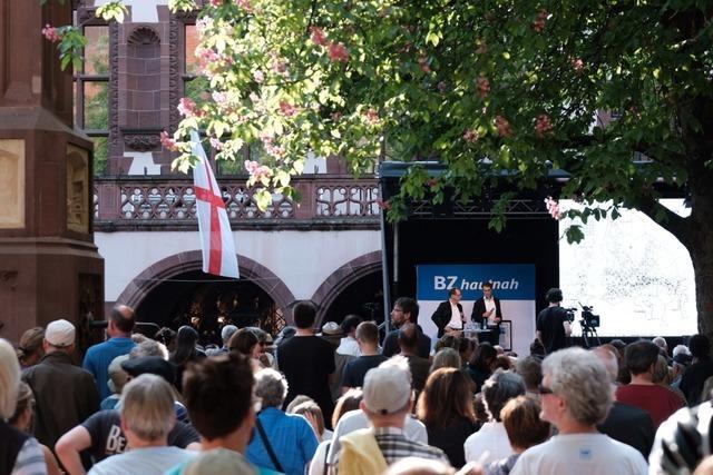 OB-Wahl in Freiburg: Martin Horn wird neuer Oberbürgermeister von Freiburg