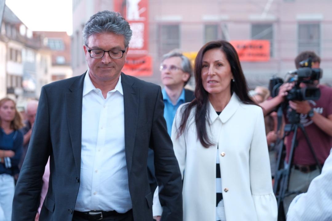 Dieter Salomon und seine Frau Helga Mayer-Salomon.  | Foto: Miroslav Dakov