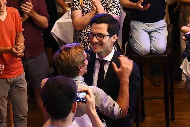 Fotos: So feiert der neue Freiburger Oberbürgermeister Martin Horn