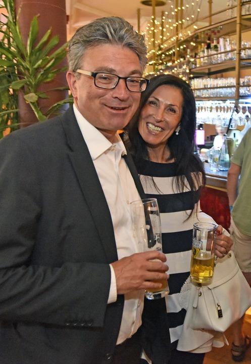 Dieter Salomon mit Ehefrau Helga Mayer-Salomon  | Foto: Michael Bamberger