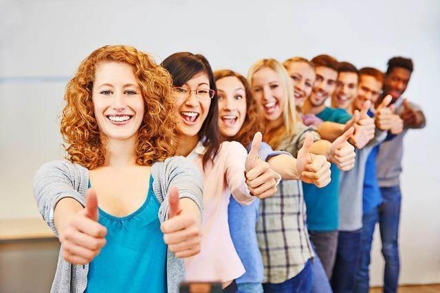 So wird die Wahl zur Lust – Freiburger Schüler informieren sich bei der Job-Start-Börse