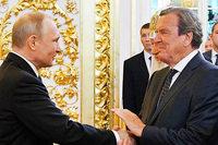 Präsident Putin für vierte Amtszeit vereidigt - Schröder anwesend