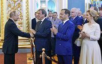 Putin als Präsident vereidigt