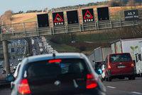 Langer Stau nach Tunnelsperrung bei Stuttgart