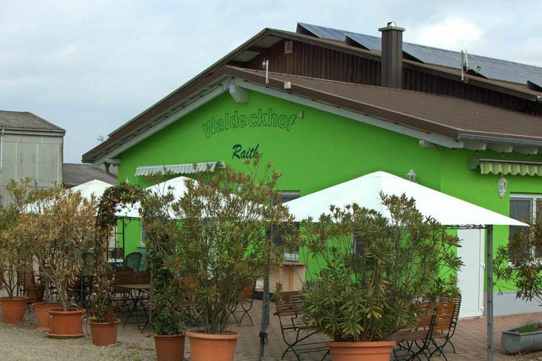 Der Waldeckhof Raith in Weisweil.  | Foto: Jonas Oswald