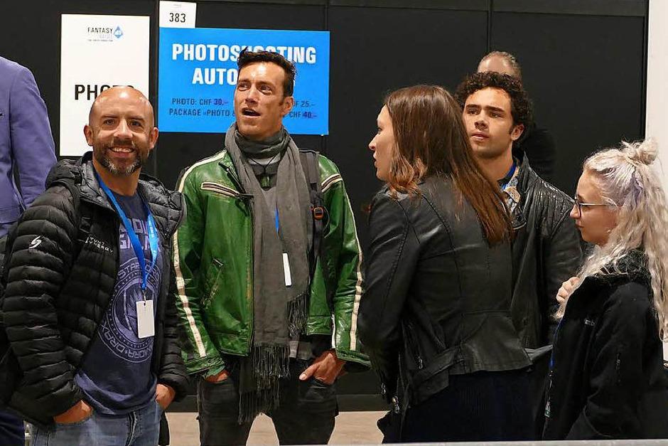 Helden aus Comic und Film treffen auf die reale Welt: die Fantasy Basel 2018 (Foto: Kathrin Ganter)