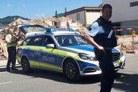 Eine Bombenattrappe hat die Innenstadt von Wehr lahmgelegt