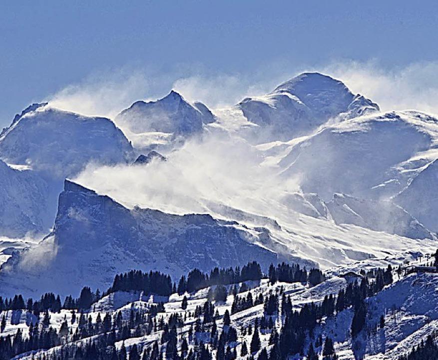 Hoch: Französische Alpen  | Foto: Andrea Schiffner