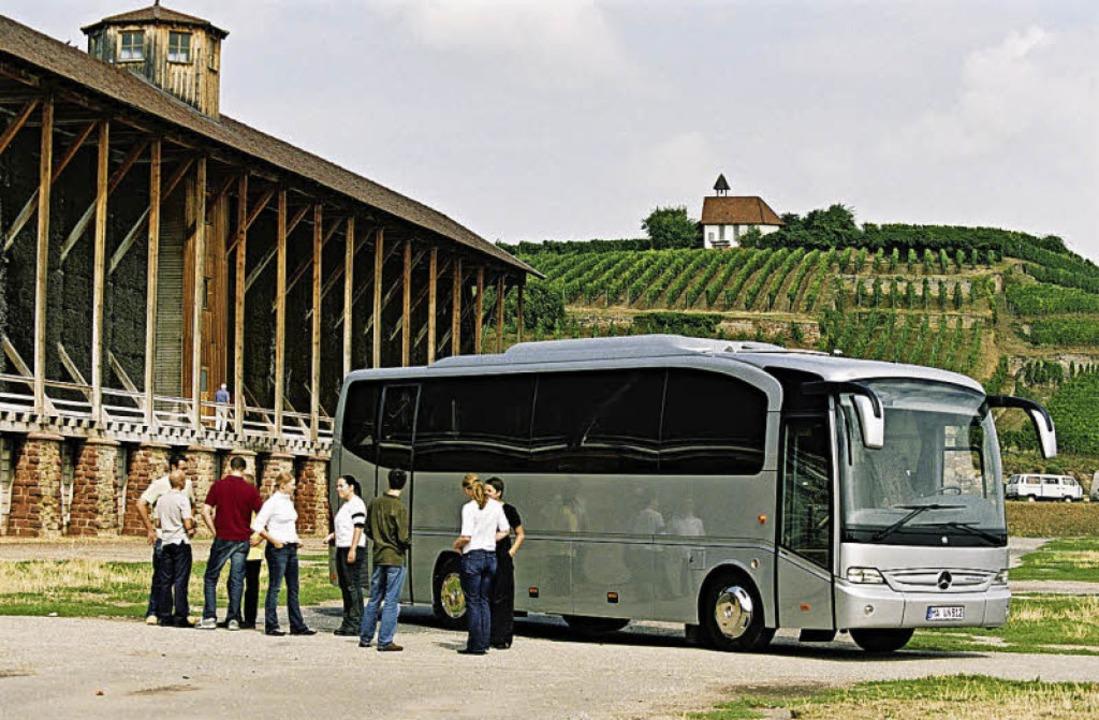 Wein und Kultur – mit dem Bus auf Tour  | Foto: BDO
