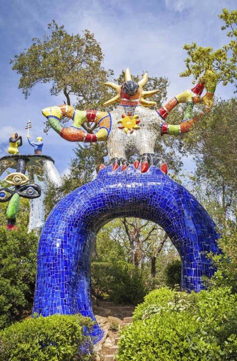 Wundersame Welt: der Garten des Tarot – Giardino dei Tarocchi     Foto: Ipictures,Stock.adobe