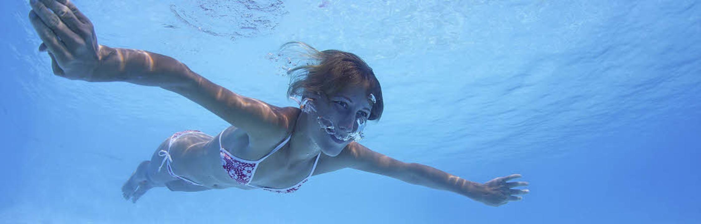 Eintauchen und genießen: Wasser übt au...schen eine besondere Faszination aus.     Foto:  Dudarev Mikhail (stock.adobe.com)