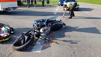 Motorradfahrerin kommt bei Unfall in Unadingen ums Leben